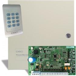 DSC PC1404 ir PC1404RKZ apsaugos sistemos komplektas su korpusu