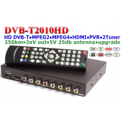 Automobilinis DVB-T imtuvas T2010HD