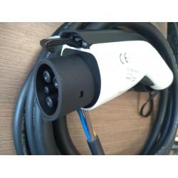 Įkrovimo stotelė TYPE1 32A 5m kabelis