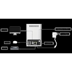 4K POE MINI NVR MS-N1009-UPT