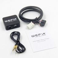 Toyota USB,AUX, adapteris 6+6PIN WEFA