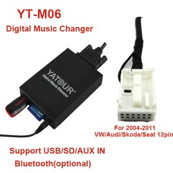 AUDI MP3 USB/SD ADAPTERIS YATOUR 12PIN.