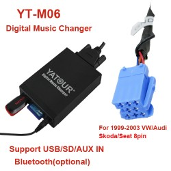 VW MP3 USB adapteris 8PIN