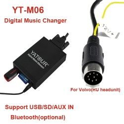 Volvo USB MP3 adapteris HU grotuvams