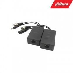 BNC-UTP HDCVI/AHD/TVI/CVBS 4MP adapteris su maitinimo perdavimu. komplekte 2 VNT PFM801-4MP