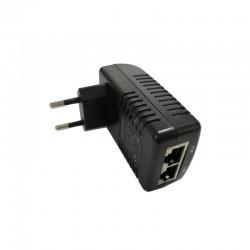 48V (0.5A) Gigabit PoE adapter, EU