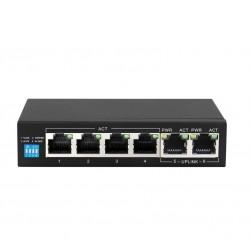EXTRALINK KRIOS EX-SG1005P 6 Ports Gigabit PoE Switch (4X Ports PoE)