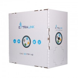 EXTRALINK CAT5E FTP (F/UTP) V2 Outdoor Twisted Pair LAN cable, 305m