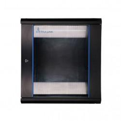 EXTRALINK 12U 600X600 WALL-MOUNTED RACKMOUNT CABINET BLACK